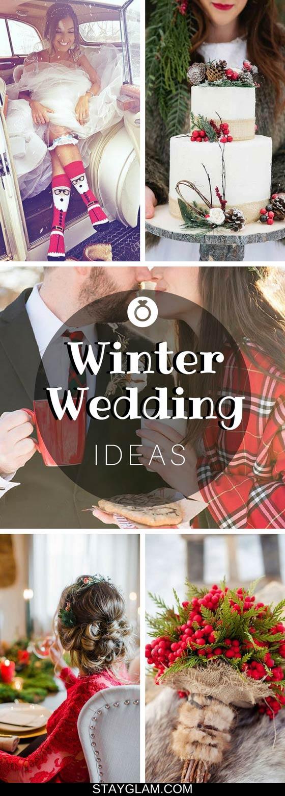 23 Unique Ideas for a Winter Wedding