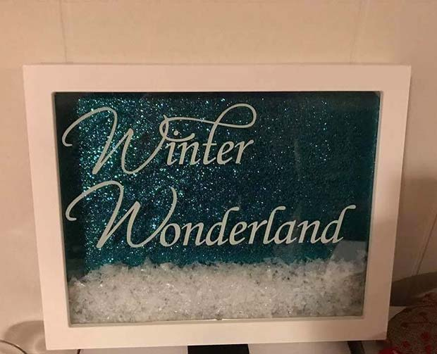 Winter Wonderland Frame