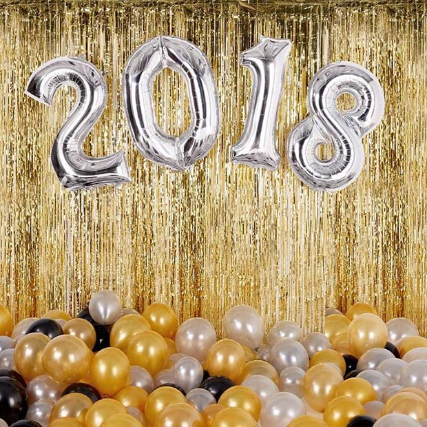NYE 2018 Balloons