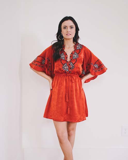 Boho Dress Outfit Idea