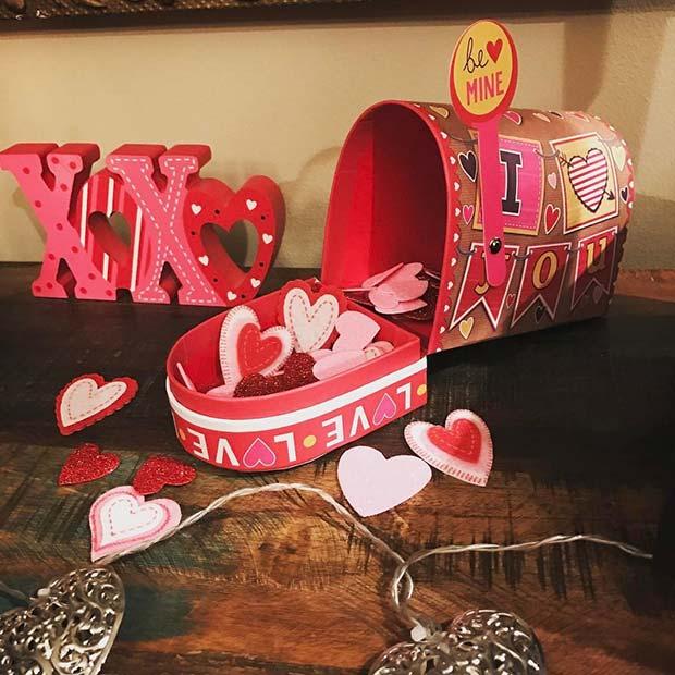 Cute Valentine's Letterbox