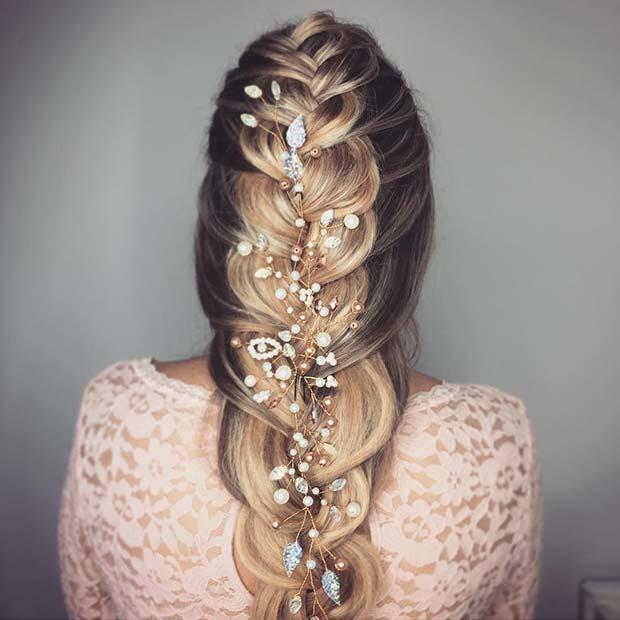 Glam Braid Style