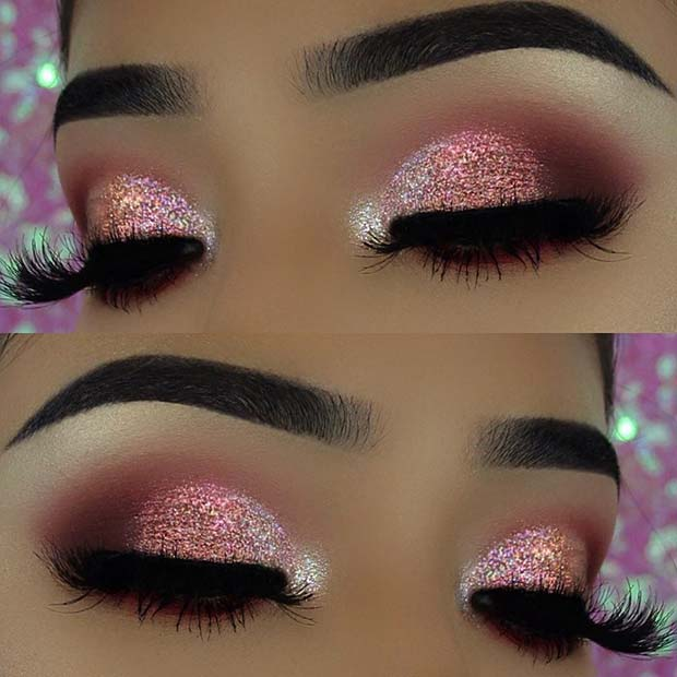 43 Glitzy NYE Makeup Ideas – StayGlam - Page 2