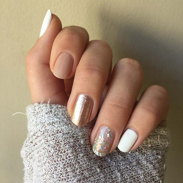 Pretty NYE Nails