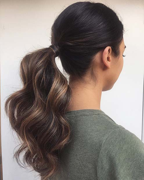 Sleek and Elegant Ponytail