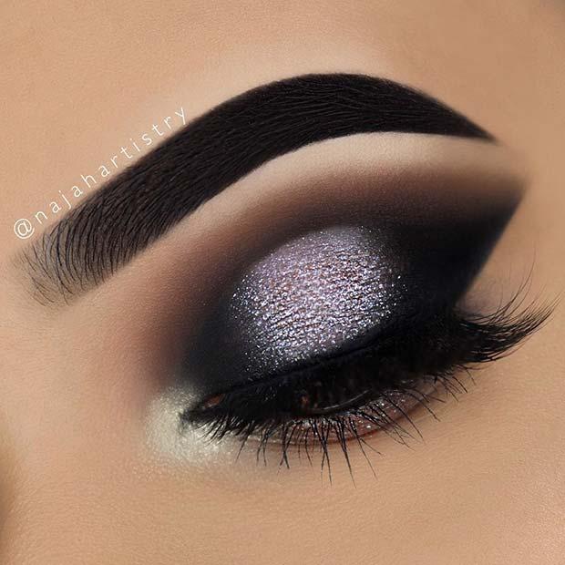 43 glitzy nye makeup ideas