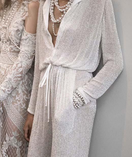 Stylish Bridal Jumpsuit