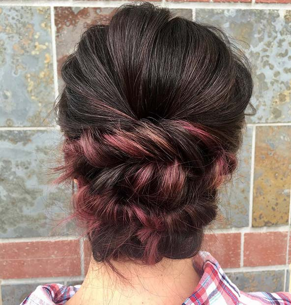 Twisted Updo Style Idea