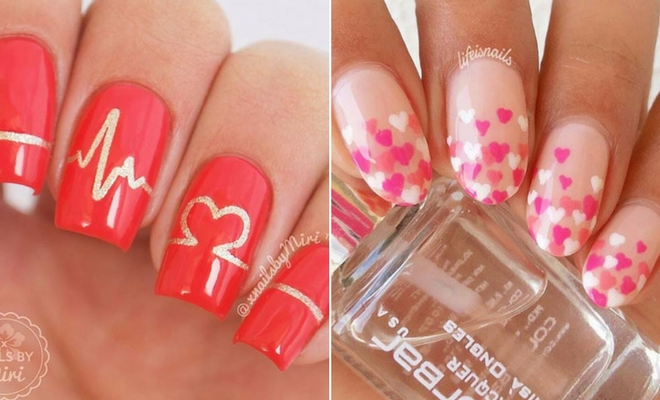 41 Cute Valentine\u0027s Day Nail Ideas for 2020