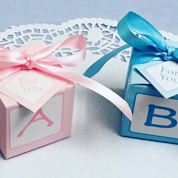 Baby Block Gift Boxes