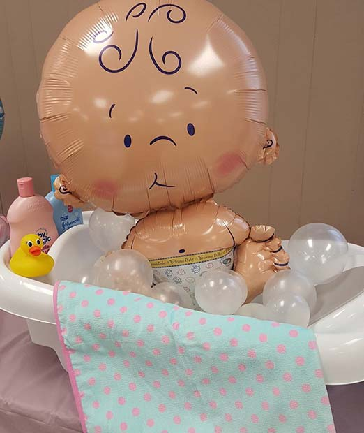 Great Baby Shower Balloon Gift Or Decor Idea
