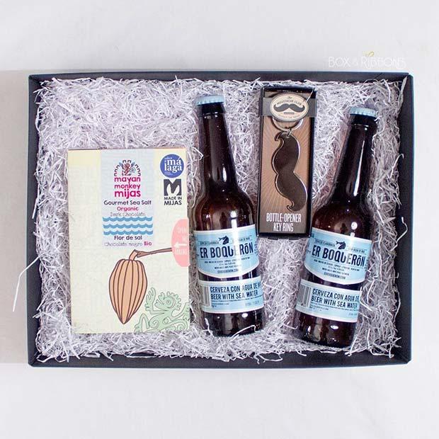 DIY Beer Gift Basket