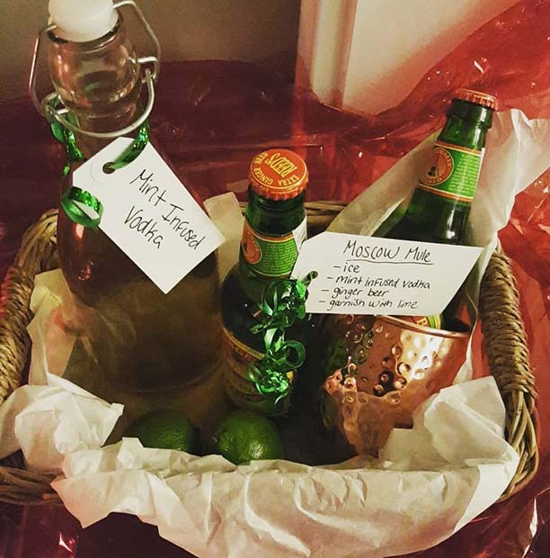 DIY Cocktail Gift