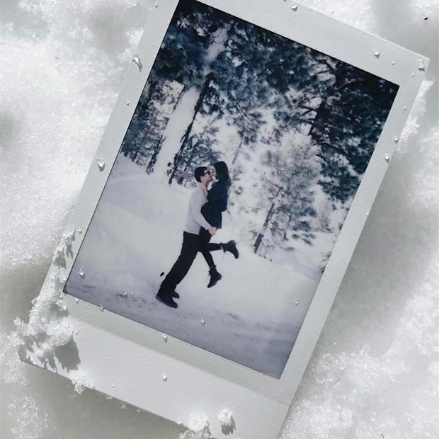 Cute Couples Photo Gift