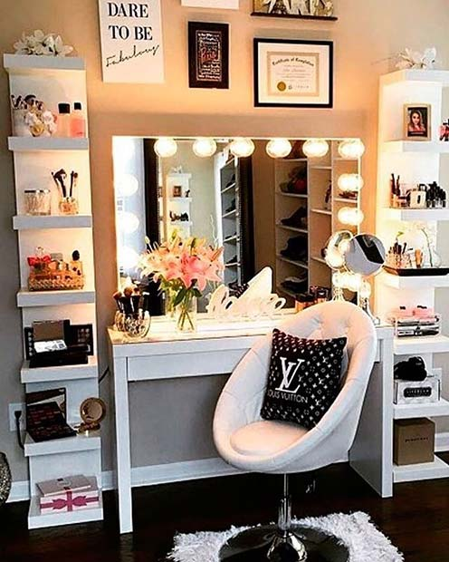 43 Must Have Makeup Vanity Ideas Stayglam