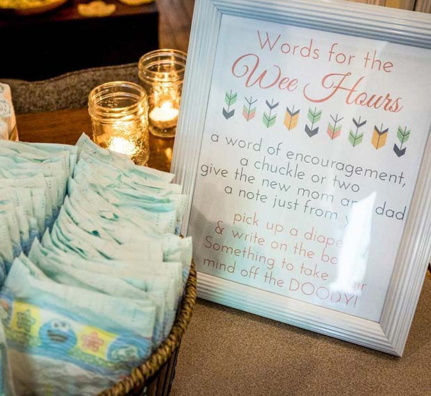 Diaper Baby Shower Game