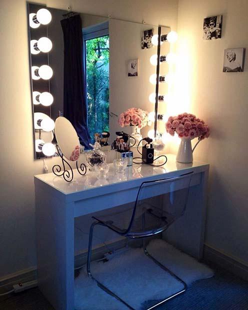 Dressing Room Glamour Vanity Table
