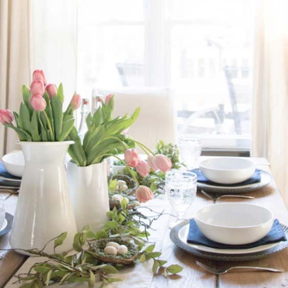 Easter Dining Table Idea