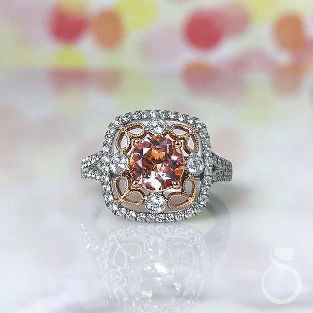 Morganite Engagement Ring Idea