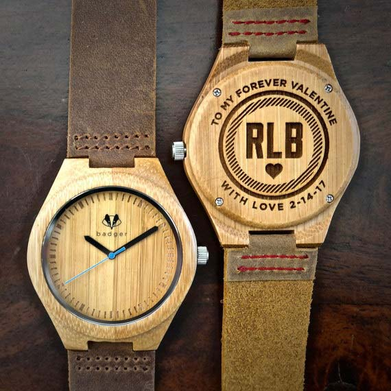 Personalized Watch Gift for Him