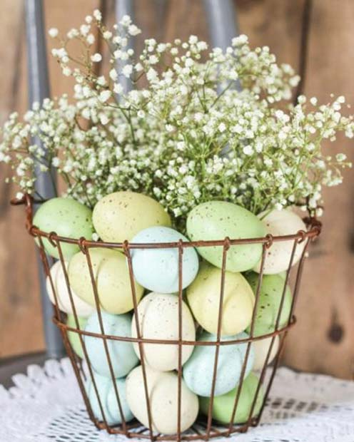 Pretty Egg Basket