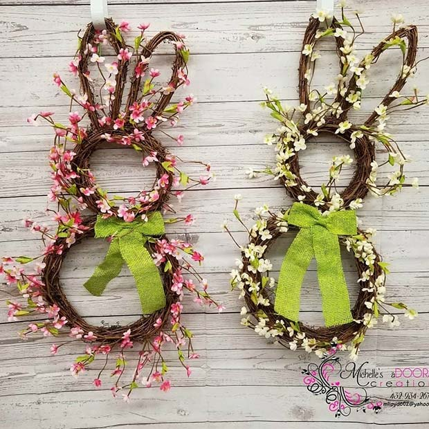 Rustic Rabbit Decoration for Easter