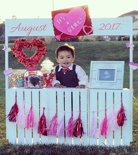 21 Valentine S Day Pregnancy Announcement Ideas Stayglam