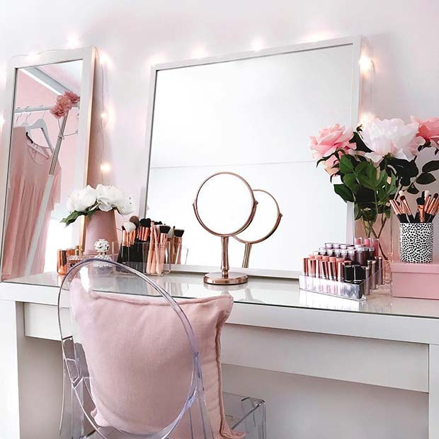 23 Must Have Makeup Vanity Ideas Crazyforus