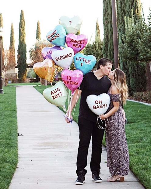 21 Valentines Day Pregnancy Announcement Ideas Page 2 Of 2 Stayglam