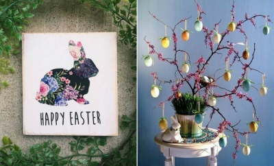 Pretty Easter Decor Ideas