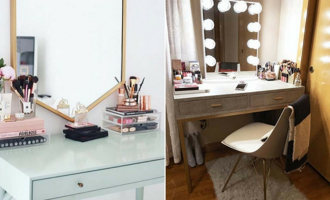 23 Must Have Makeup Vanity Ideas Stayglam