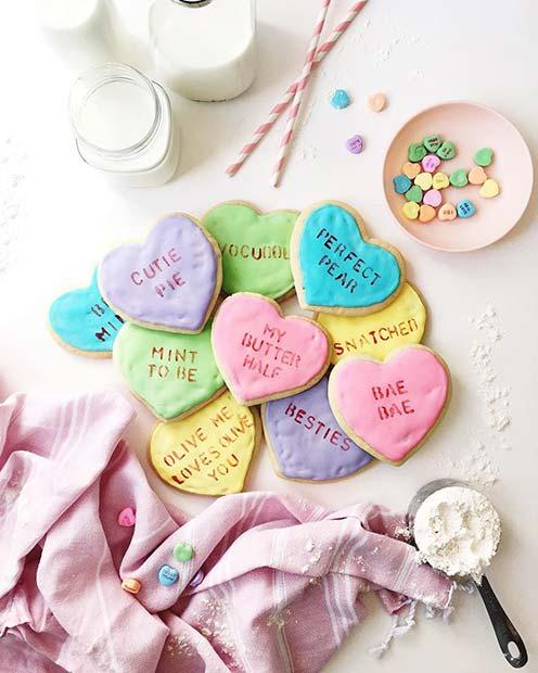 Valentine's DIY Cookies