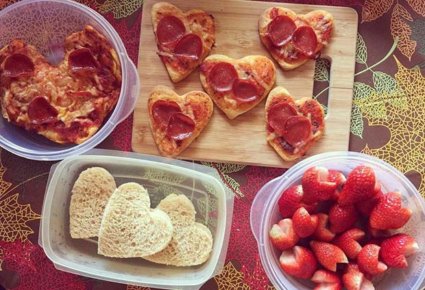 DIY Valentine's Lunch Idea