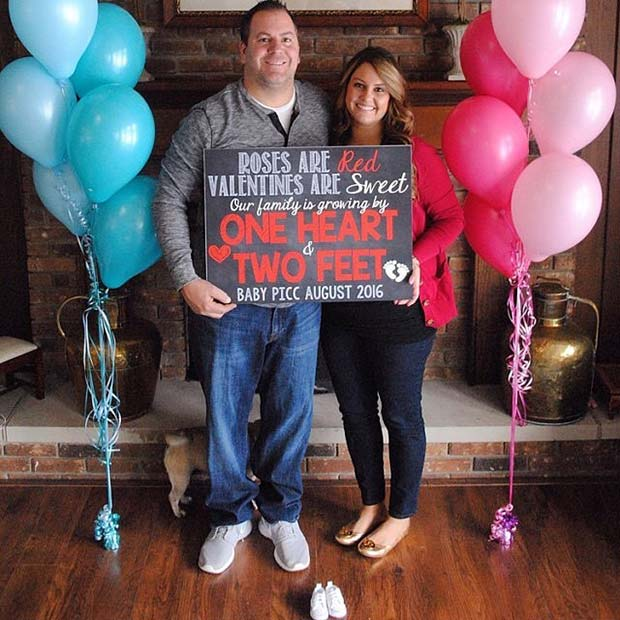 21 Valentines Day Pregnancy Announcement Ideas Page 2