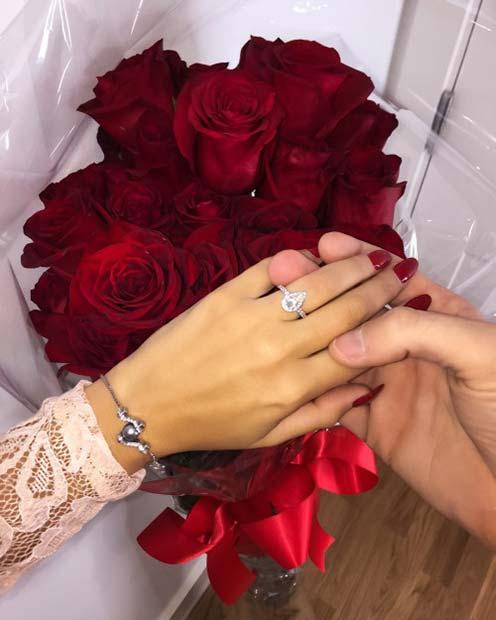 Valentine's Wedding Proposal