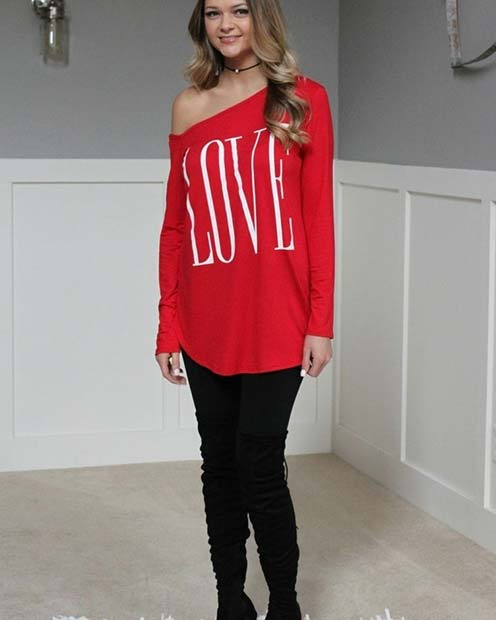 Valentine's Love Sweater
