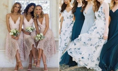 Bridesmaid Dresses for a Spring Wedding