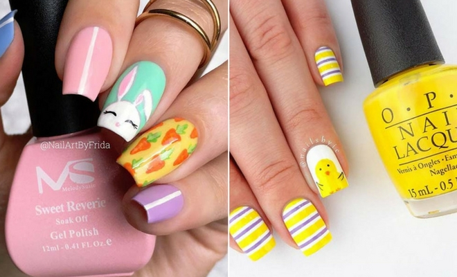 21 Cute Easter Nail Designs For 2018 Stayglam