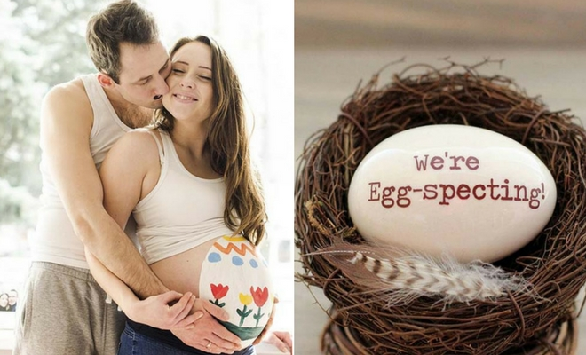 21 Easter Pregnancy Announcement Ideas Stayglam