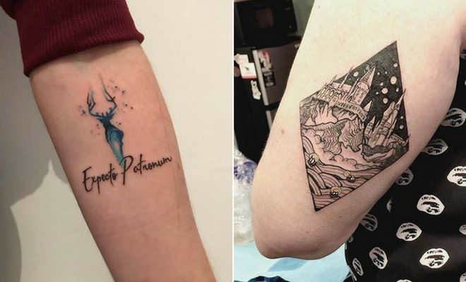 47 Cool And Magical Harry Potter Inspired Tattoos Stayglam