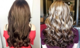 Reverse Balayage Hair Color Ideas