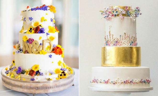 23 stunning spring wedding cakes to inspire stayglam instagram junglespirit Gallery