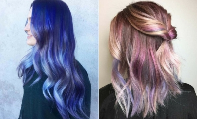 new style hair color 23 unique hair color ideas for 2018 stayglam 9569 | 23 Unique Hair Color Ideas for 2018 400x242