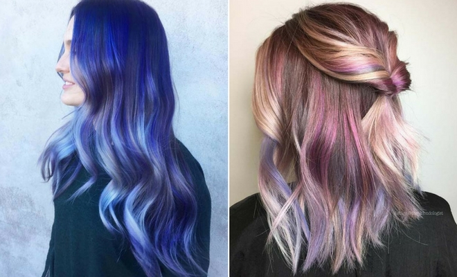 23 Unique Hair Color Ideas for 2018