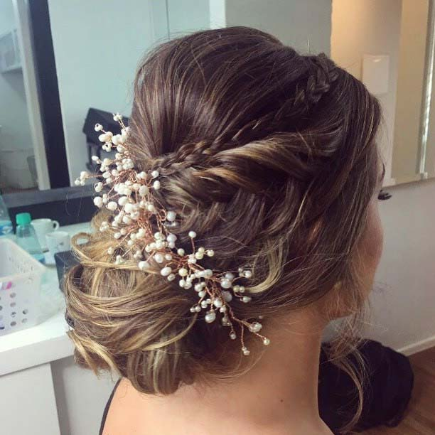 Elegant Accessorized Updo