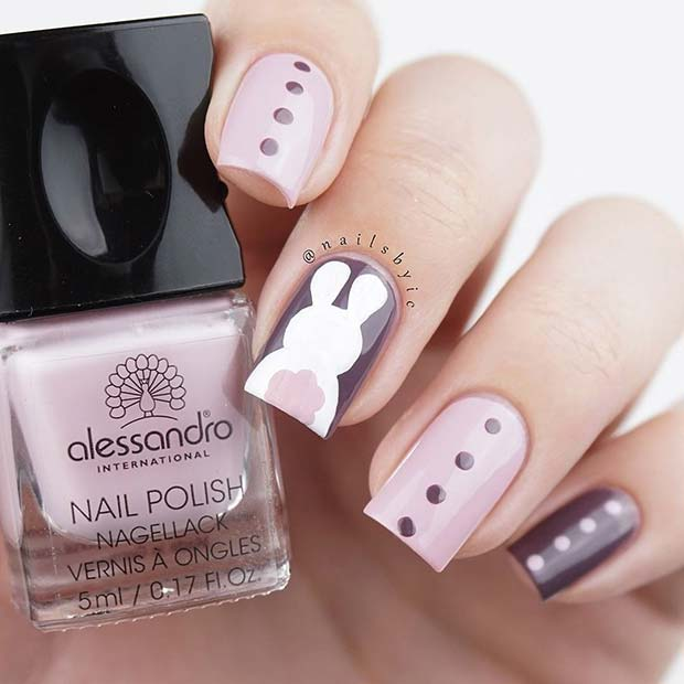 Chic Easter Nails