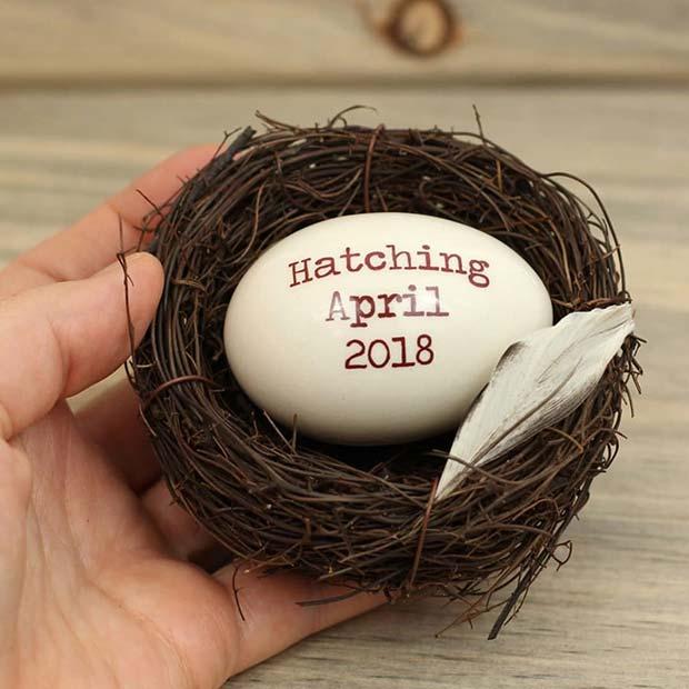 Due Date Easter Egg Idea