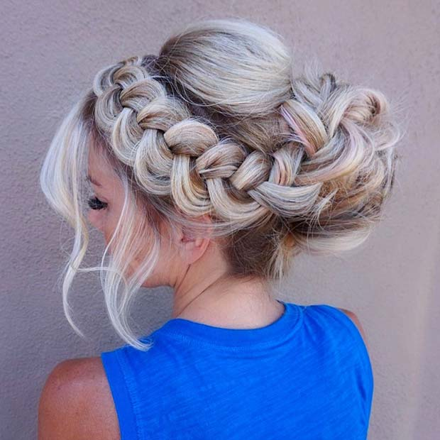 Formal Bun with Loose Braid