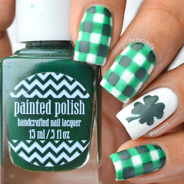21 Creative St Patricks Day Nails Page 2 Of 2 Stayglam
