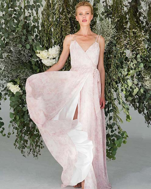 Light and Floaty Bridesmaid Dress